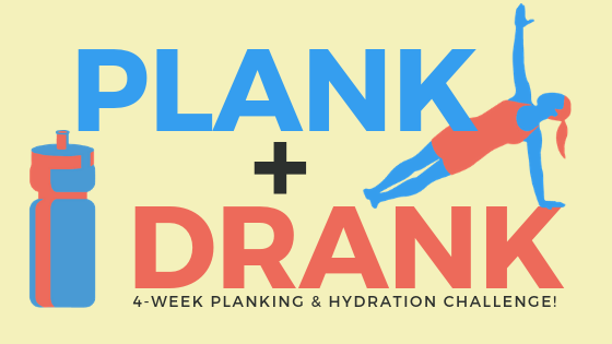 plank and drank - a 4 week challenge