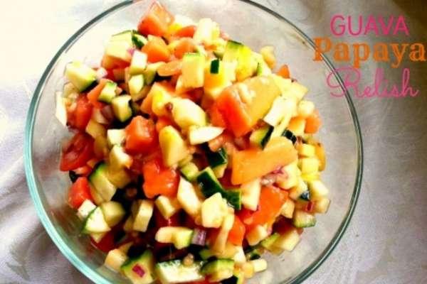 guava papaya relish
