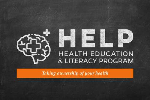 health education and literacy program logo
