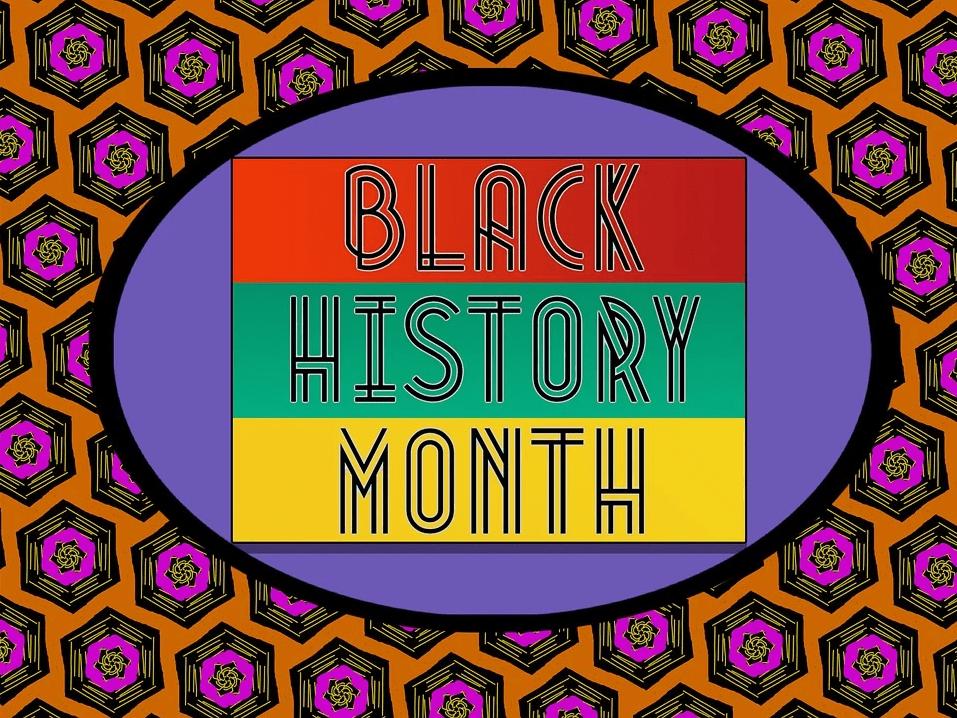black history month flyer image
