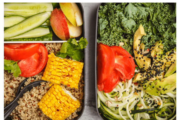Healthy meal prep options