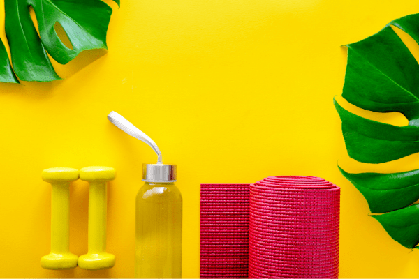 bright and colorful wellness