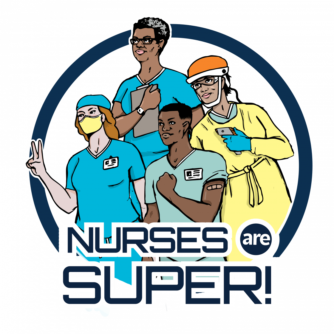 These health care heroes wear scrubs instead of capes and serve as a beacon of hope for our community through the pandemic.