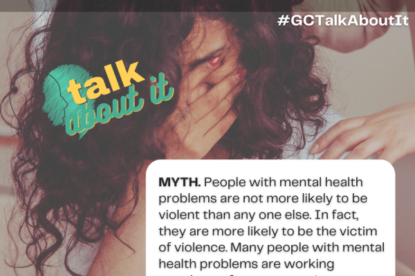myth or fact: people with a mental health diagnosis are violent