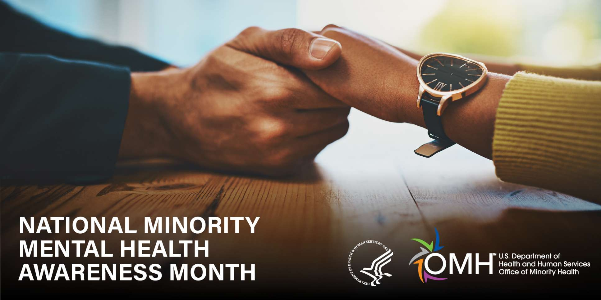 logo for minority mental health awareness month