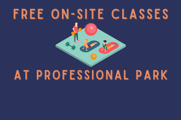 free on-site classes at professional park