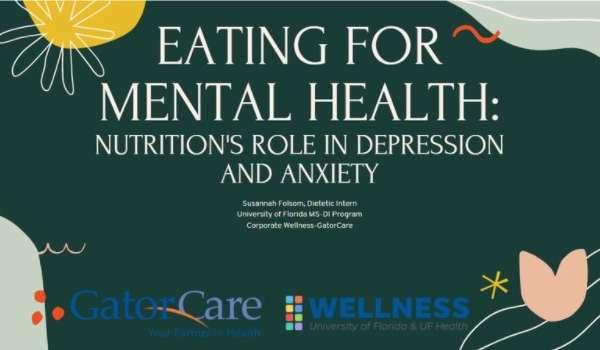 logo for eating for mental health presentation