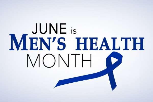 logo for men's health  month