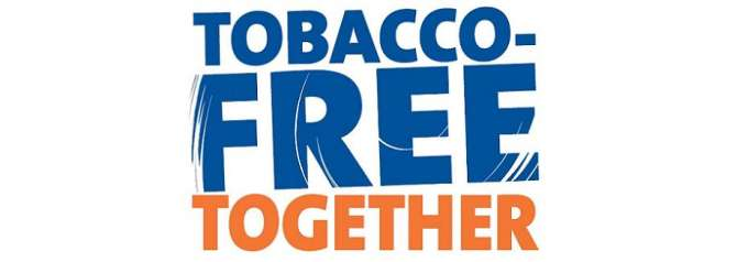 text tobacco-free together