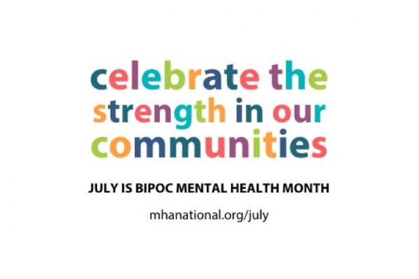 logo for strength in minority mental health awareness month 2021