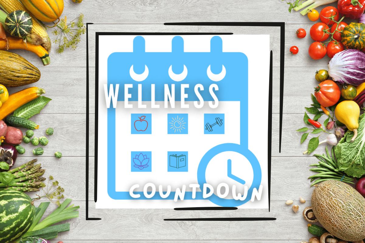 calendar with wellness countdown